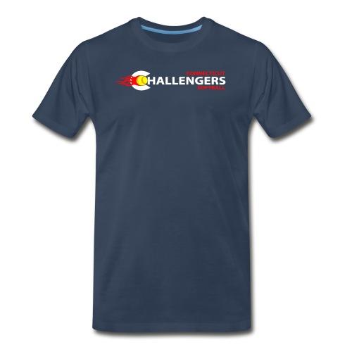 logo2w - Men's Premium T-Shirt