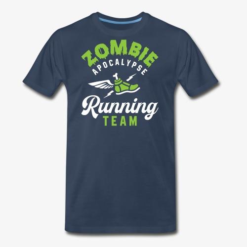 Zombie Apocalypse Running Team - Men's Premium T-Shirt