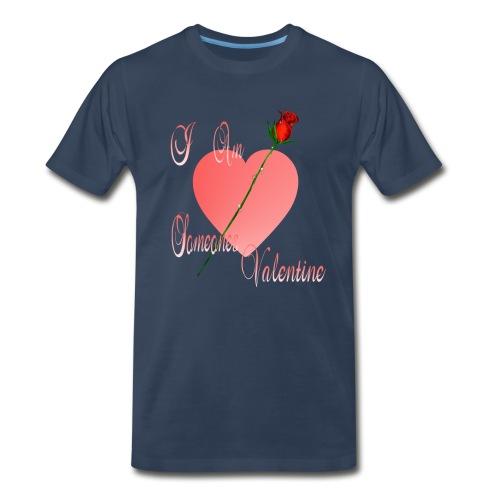 I Am Someone's Valentine - Men's Premium T-Shirt