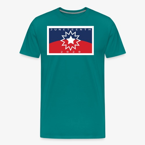Juneteenth01 - Men's Premium T-Shirt