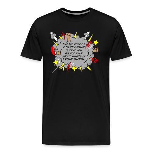 RulesofFightCloud - Men's Premium T-Shirt