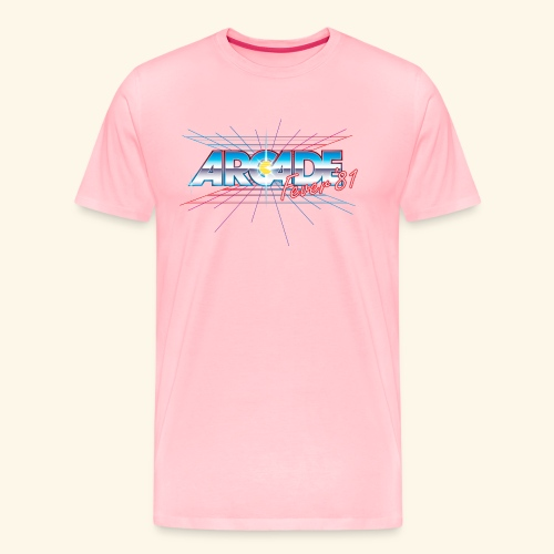 arcade fever 81 motiv2 - Men's Premium T-Shirt