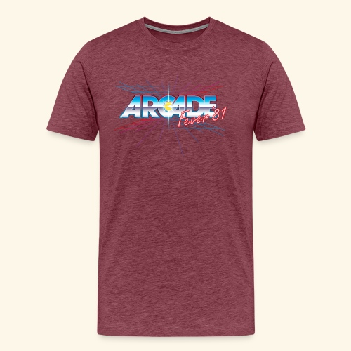 arcade fever 81 motiv2 - Men's Premium T-Shirt