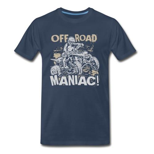 ATV Quad Off-Road Maniac - Men's Premium T-Shirt