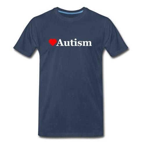 Heart Autism w - Men's Premium T-Shirt