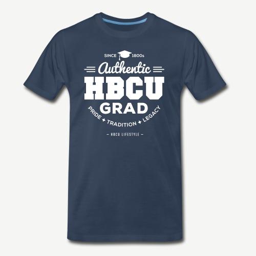 Authentic HBCU Grad - Men's Premium T-Shirt