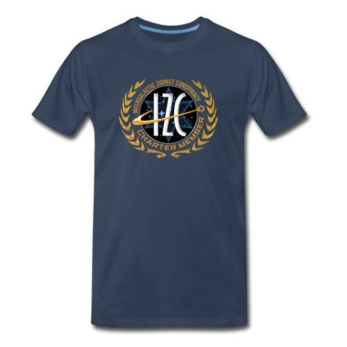 Intergalactic Zionist Conspiracy Charter Member - Men's Premium T-Shirt