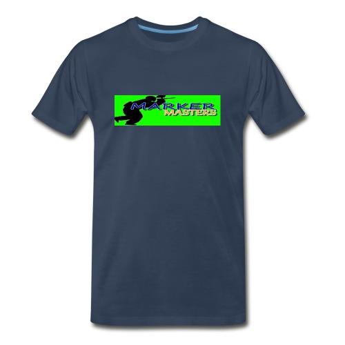 Marker Masters (Green) - Men's Premium T-Shirt