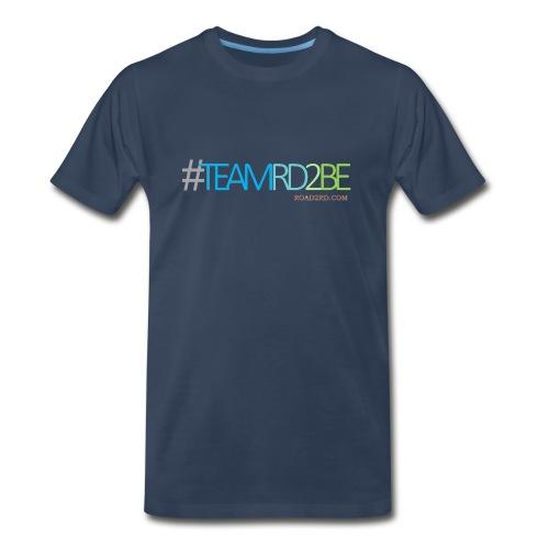 team rd2be transparent 2 png - Men's Premium T-Shirt