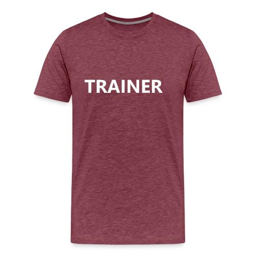 Trainer - Men's Premium T-Shirt