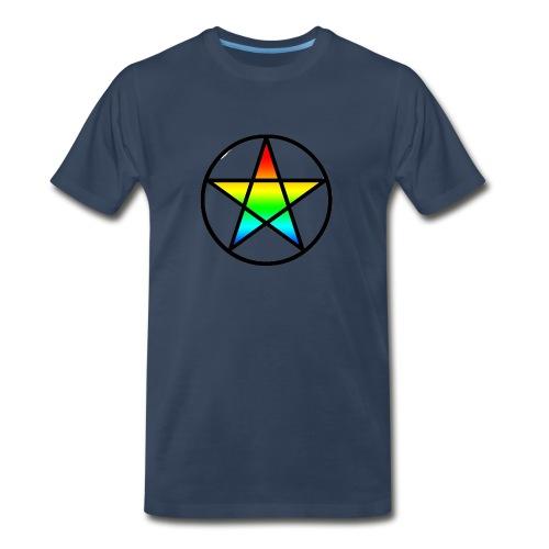 Official Iridescent Tee-Shirt // Men's // White - Men's Premium T-Shirt
