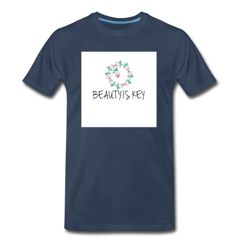Beauty is Key - Men's Premium T-Shirt
