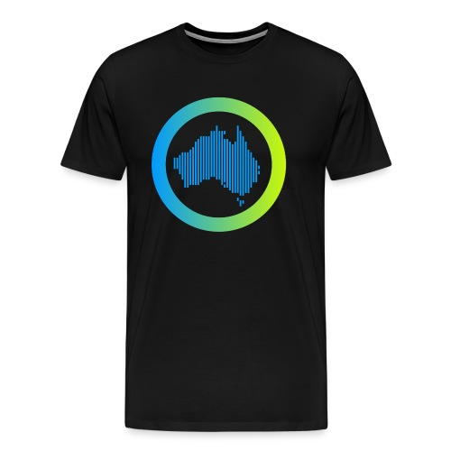 Gradient Symbol Only - Men's Premium T-Shirt