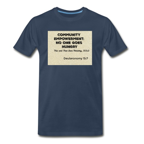 Deuteronomy 15:7 - Men's Premium T-Shirt