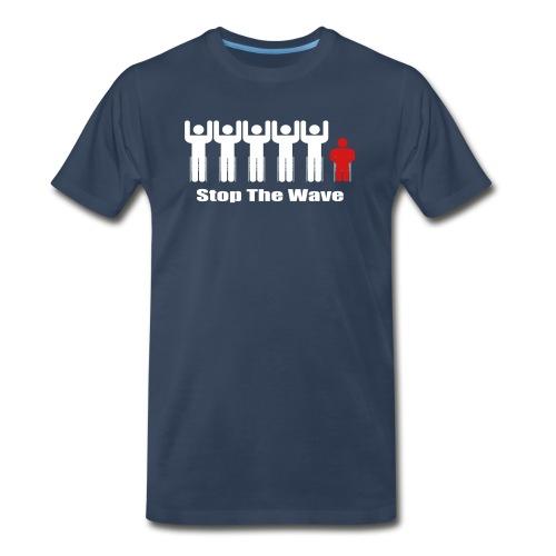 Stop The Wave - Men's Premium T-Shirt
