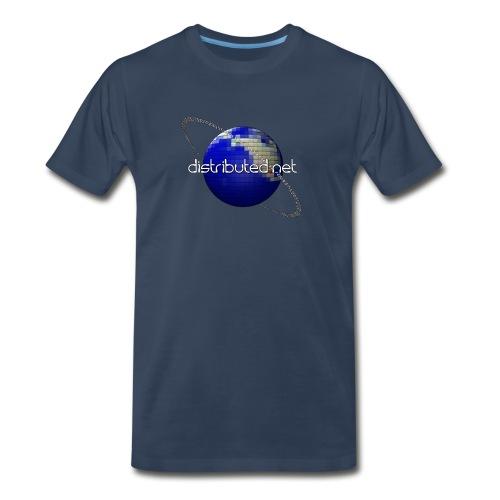 full logo border - Men's Premium T-Shirt