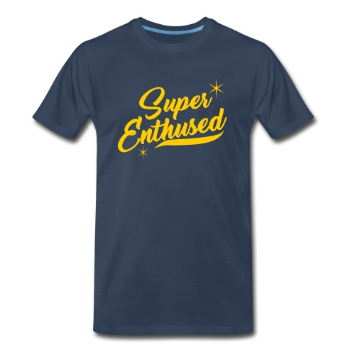 Super Enthused Cursive - Men's Premium T-Shirt