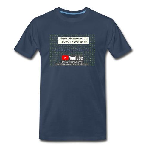 AlienCode v3 TransparentBG2019 - Men's Premium T-Shirt