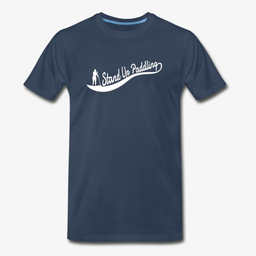 Stand Up Paddling Wave - Man - Men's Premium T-Shirt