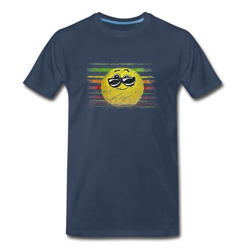 KEEP COOL SMILEY - Men's Premium T-Shirt
