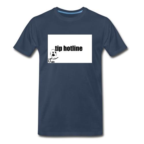 Tip hotline Phone Case - Men's Premium T-Shirt
