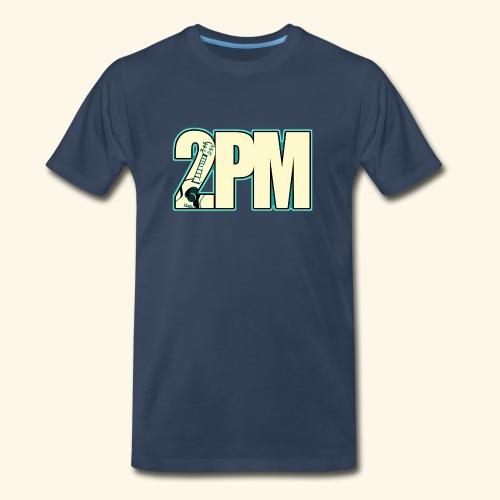 2PM Teal Guitar Logo - Men's Premium T-Shirt