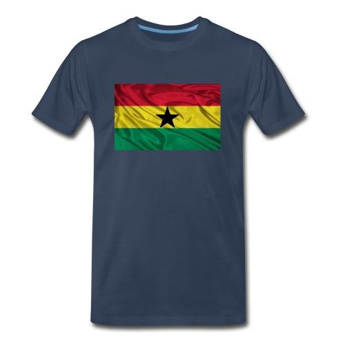 Ghana-Flag - Men's Premium T-Shirt