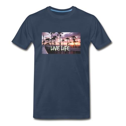 LIVE LIFE - Men's Premium T-Shirt