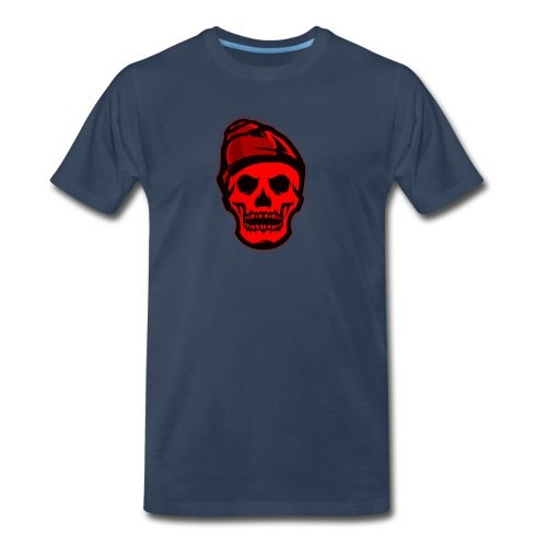 RED Skeleton HaHaHaHa - Men's Premium T-Shirt