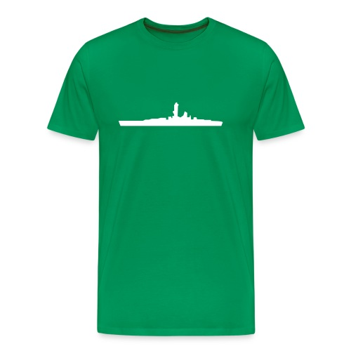 battleship - Men's Premium T-Shirt