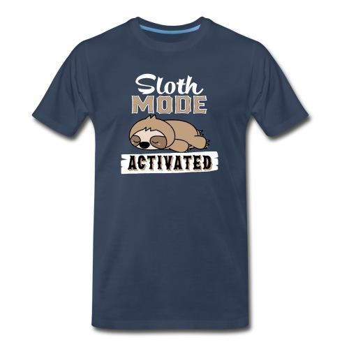 Sloth Mode Activated - Men's Premium T-Shirt