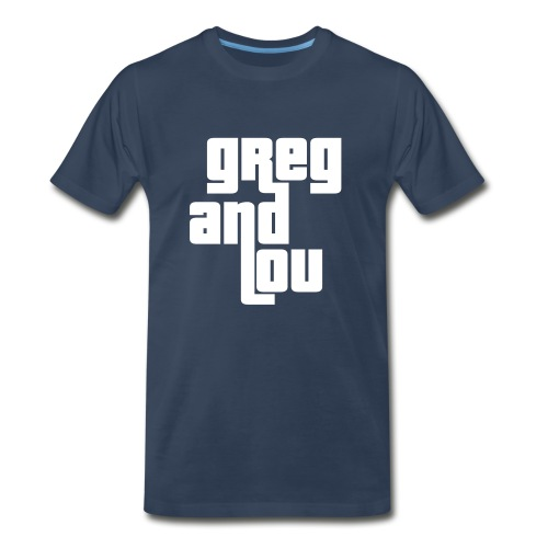 greg and lou title - Men's Premium T-Shirt