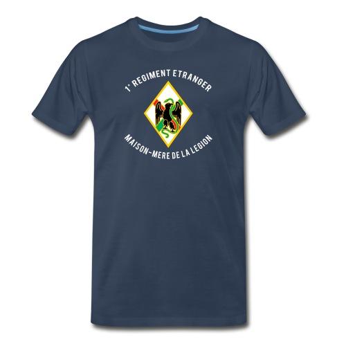 1RE - Regiment Etranger - Badge - Men's Premium T-Shirt