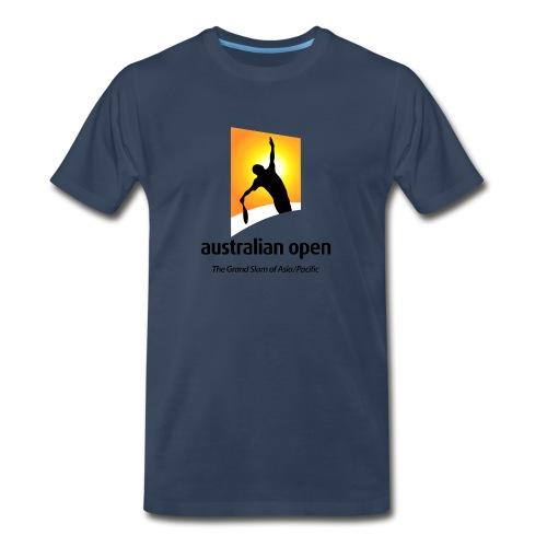 AUSTRALIA OPEN LOGO 2 - Men's Premium T-Shirt