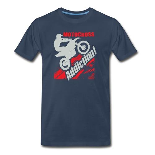 Motocross Addiction - Men's Premium T-Shirt