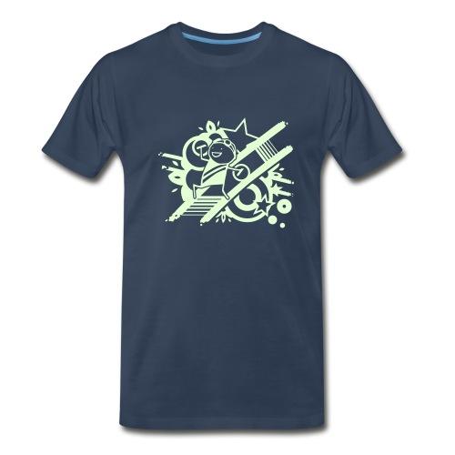 Glowing Raver - Men's Premium T-Shirt