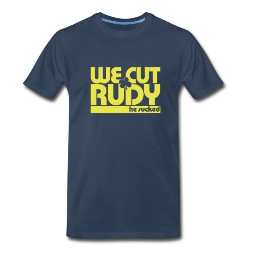 we cut rudy text cvs - Men's Premium T-Shirt