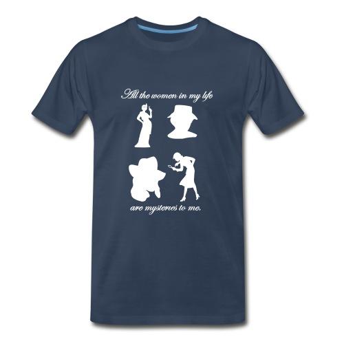 Mystery Women Tote Bag - Men's Premium T-Shirt