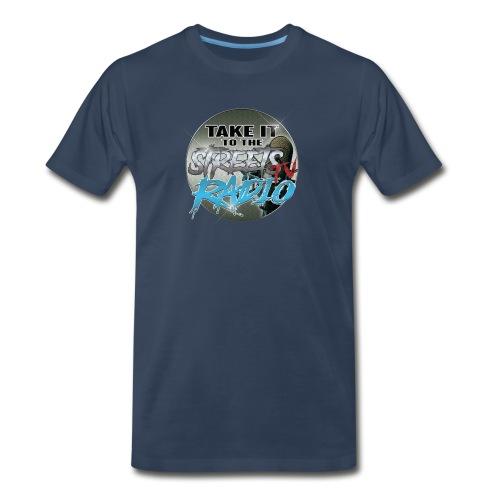 Takeit tothe streets cirlce logo - Men's Premium T-Shirt