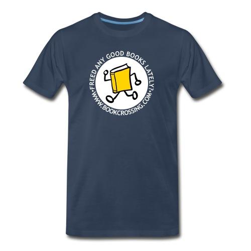 internal bally circle freed any good filled white - Men's Premium T-Shirt
