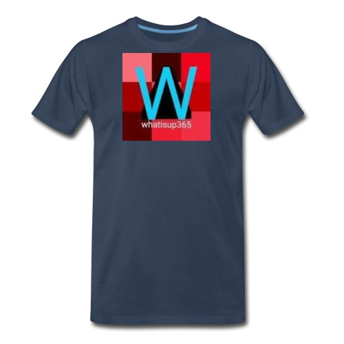 Whatisup365's logo 2014-2015 - Men's Premium T-Shirt
