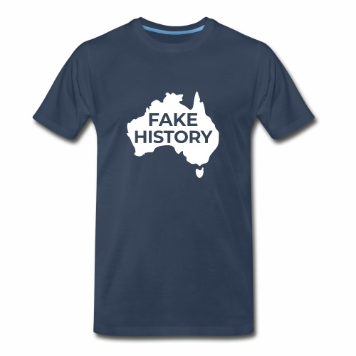 Fake History of Australia - Men's Premium T-Shirt