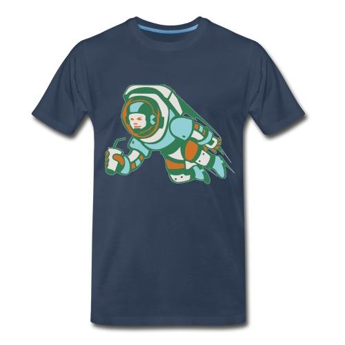 Astronaut Crewneck - Men's Premium T-Shirt