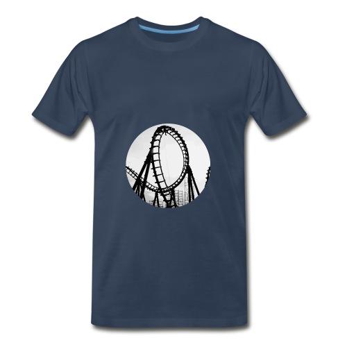 Rollercoaster Career Chan - Men's Premium T-Shirt