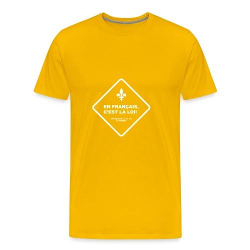 Loi 101 - Men's Premium T-Shirt