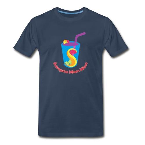 miam5 png - Men's Premium T-Shirt