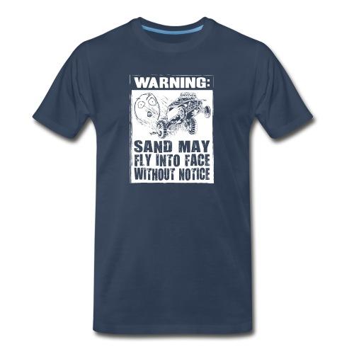 Dune Buggy Sand Warning - Men's Premium T-Shirt