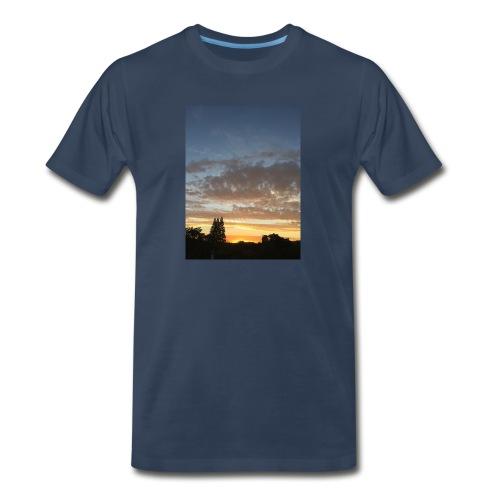nuclear sunset - Men's Premium T-Shirt