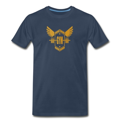 Logo GYM - Men's Premium T-Shirt