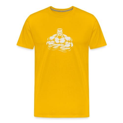 An Angry Bodybuilding Coach - Men's Premium T-Shirt